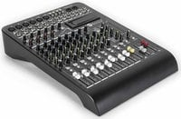 12-Channel Mixer with Expansion Slot, Built-in Digital Effects and 4 Built-In Compressors