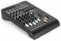 8-Channel Mixer with Expansion Slot, Built-In Effects and 2 Built-In Compressors