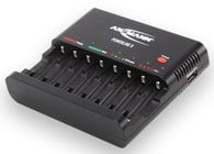 8-Bay Battery Charger for NiMH/NiCad AA & AAA Batteries