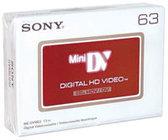 Sony DVM63HD MiniDV HD Cassette, 63 Min.