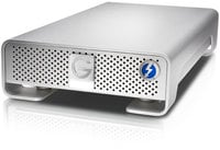G-Technology 0G03050 4TB G|DRIVE External Hard Drive with Thunderbolt / USB 3.0, 7200 RPM 0G03050