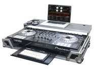 Flight Zone Case for Pioneer DDJ-SZ Controller with Glide Style Laptop Shelf