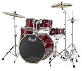 Pearl Drums EXL725-246 5 Piece Drum Kit in Natural Cherry Lacquer Finish with 830 Series Hardware