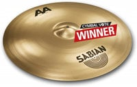 "Sabian 221BCB 21"" AA Bash Ride Cymbal in Brilliant Finish 221BCB"