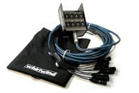 50 ft 12-Channel Fan to Box XLR Snake, No Returns
