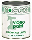 Rosco 150057110640 5 Gallons of Chroma Key Green Paint