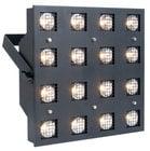16 x 7W Warm White LED Blinder