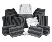 Auralex PROPLUSCHA/PUR Roominators Pro Plus Complete Room Acoustic Treatment Kit in Purple