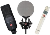 sE Electronics Microphone Bundle with sE X1, sE1a and Isolation Pack