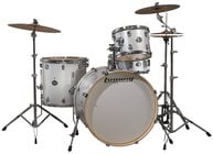 4-Piece Element Icon Drum Kit with Hardware & Cymbals