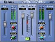 Sonnox OXFORD-TRANSM-HD-HDX Oxford TransMod Transient Modultation HD-HDX Plugin
