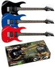 Jumpstart Pack with Blue GRG Electric Guitar