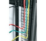 """Middle Atlantic Products LACE-WB6-42  6""""W 42RU Vertical Wire Grid Lace"""