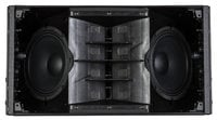 "1400W Peak Dual 8"" Active Line Array Speaker Module in White"