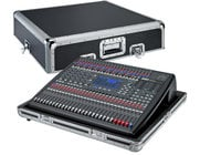 BBE MP24M 24-Channel Digital Mixer with BBE Sonic Maximizer Processing and Flight Case