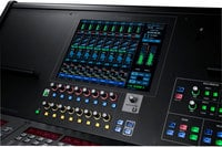 24-bit/96 kHz Digital Live Mixing Console with OHRCA, Touchscreen Control and USB Audio Interface