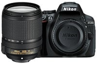 Nikon 13303 D5300 24.2MP DSLR Camera Kit with AF-S DX NIKKOR 18-140mm f/3.5-5.6G ED VR Lens 13303