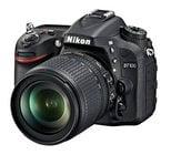 24.1MP D7100 DX-Format HD-DSLR Camera Body in Black