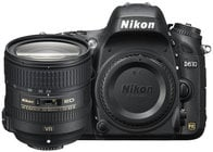 Nikon 13305 24.3MP D610 DSLR Camera Kit with AF-S NIKKOR 24–85mm VR Lens