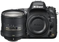 Nikon 13305-NIKON 24.3MP D610 DSLR Camera Kit with AF-S NIKKOR 24–85mm VR Lens