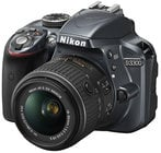 24.2MP DSLR Camera in Grey with AF-S DX NIKKOR 18-55mm f/3.5-5.6G VR II Zoom Lens