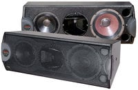Passive 3-Way Contractor Series Loudspeaker with Rotatable Horn