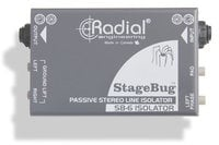 Radial Engineering StageBug SB-6 Passive Stereo Line Isolator STAGEBUG-SB6