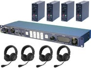 Datavideo Corporation ITC100-HP2K ITC-100 Intercom System Combo Product Package for Four Users