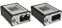 Sescom SES-FA2 Portable 2-Channel Microphone & Line Level Audio Over Fiber Extender Kit