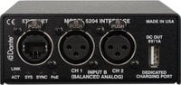 Dual Line Input to Dante Network Audio Interface