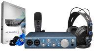 PreSonus AUDIOBOX-ITWO-STUDIO AudioBox iTwo Studio Mobile Recording Bundle with AudioBox iTwo, Headphones, Microphone and Recording Software