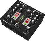 2-Channel DJ Mixer with BPM Counter