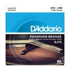 D`Addario EJ73 Light .010-.038 Phosphorus Mandolin Strings