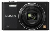 16MP 12x Zoom Lumix Digital Camera with WiFi in Black