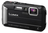 16.1MP 4x Optical Zoom LUMIX  Active Lifestyle Tough Camera in Black