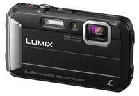 Panasonic DMC-TS30K 16.1MP 4x Optical Zoom LUMIX  Active Lifestyle Tough Camera in Black