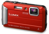 16.1MP 4x Optical Zoom LUMIX  Active Lifestyle Tough Camera in Red