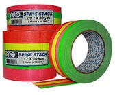 "Rose Brand TPCS0024 1/2"" Wide Fluorescent Spike Tape Combo Pack"