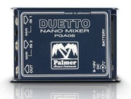 Palmer Duetto Nano Mixer for Guitar/Line Level Signals