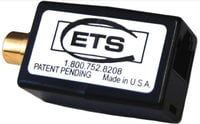 ETS ETS-PA807  Line Level Analog Stereo Audio Balun, RCA Female to RJ45 ETS-PA807