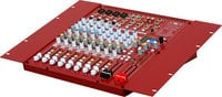 Galaxy Audio AXS-10RM 10 Channel Rackmount Mixer with 4 Microphone Inputs