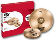 "Sabian 45001X B8X First Pack with 13"" Hi-Hats, 16"" Thin Crash Cymbal 45001X"