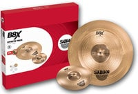 "Sabian 45005X B8X Effects Pack with 10"" Splash, 18"" Chinese Cymbals"
