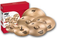 "Sabian 45006X  Complete Set, B8X Complete Set with 10"" Splash, 14"" Hi-Hats, 16"" Thin Crash, 18"" Thin Crash, 18"" Chinese, 20"" Ride"
