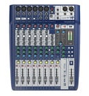 10-Input Compact Analog Mixer with Onboard Effects and 2x2 USB Interface