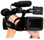 "1/3"" Handheld Micro-P2 HD Camcorder with 22X Lens"