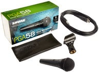 "PG ALTA Cardioid Dynamic Vocal Microphone with 15 ft 1/4""-XLR Cable"