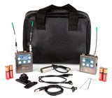 Lectrosonics ZS-LRLMb-A1 L-Series Digital Hybrid Wireless Bodypack System with LMb Transmitter and Lavalier Microphone, A1 Block 470.100 - 537.575 MHz
