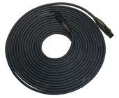 RapcoHorizon Music NBGDMX5-25 25 Foot Length of 5-Pin DMX, Neutrik Black XLRF to XLRM Cable