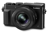 Panasonic DMC-LX100K 16.8MP LUMIX LX100 Integrated Leica DC Lens Camera with Advanced Controls in Black